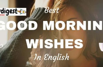 Best good morning wishes in English for you