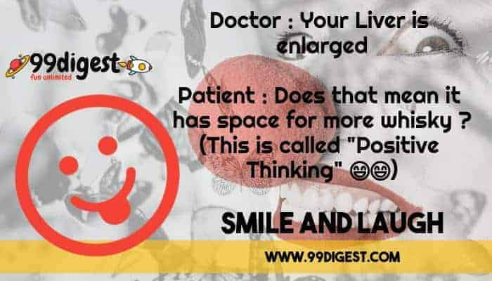 Best English Jokes Doctor Patient Positive Thinking