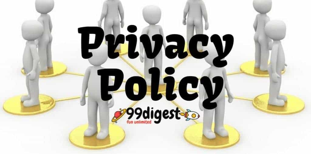Privacy Policy Of 99digest.com